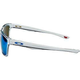 Oakley Holston Lunettes de soleil, polished clear/prizm sapphire